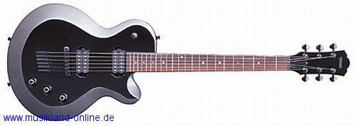 Yamaha AES-720 Black Grey Metallic E-Gitarre