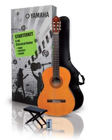 Yamaha C-40 Konzertgitarren SET