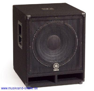 Yamaha SW-118 V Bass-Box Club Series passiv