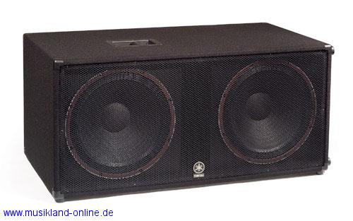 Yamaha SW-218 V Bass-Box Club Series passiv