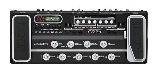 Zoom G9.2tt Gitarren Effekt inkl. Cubase