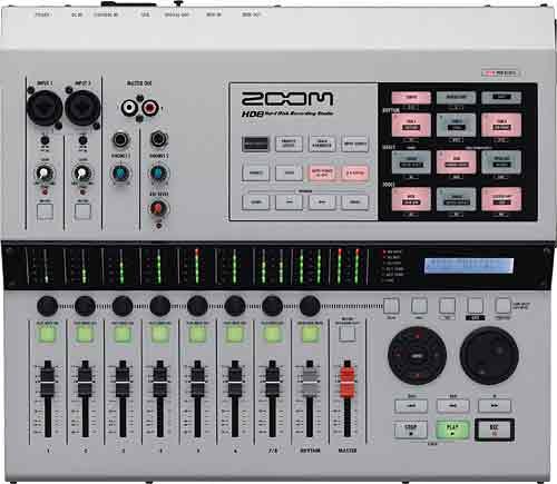 Zoom HD-8 CD Recorder inkl. Netzteil und CubaseLE
