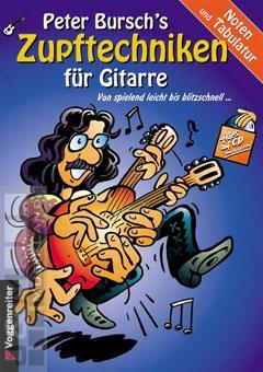 Zupftechniken für Gitarre - Peter Bursch mit CD