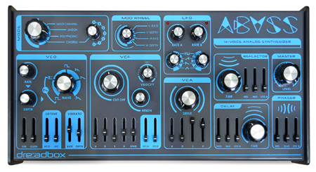 dreadbox ABYSS polyphon analog 4-Stimmig