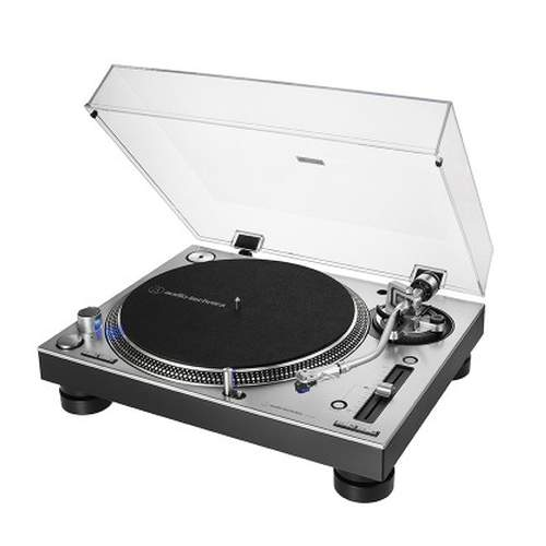 Audio Technica AT-LP140XP Turntable silber