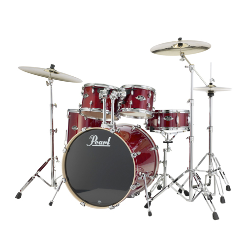 Pearl EXL725 Export Lacquer Drumset HW Becken