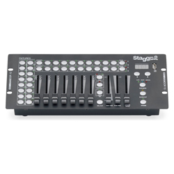 Stagg COMMANDOR 10-2 10-CHAN DMX Light Controler