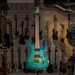 Ibanez S5521Q-NGB E-Gitarre