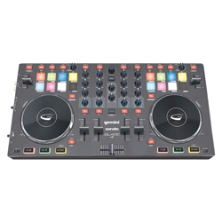 Gemini SLATE4 4-Channel Serato DJ Intro Controller