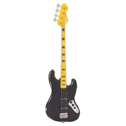 Vintage VJ74MRBK E-Bass Distressed Black