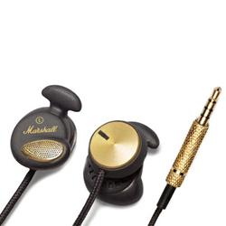 Marshall Minor In Ear Kopfhörer Black