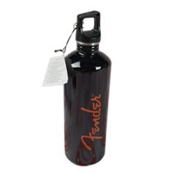 Fender Wasserflasche Schwarz 0,72 l
