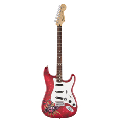 Fender Special Edition David Lozeau Art Stratocaster Sacred Heart
