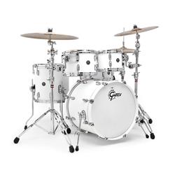 Gretsch RN-1-E604-SW Renown Drumset Satin White