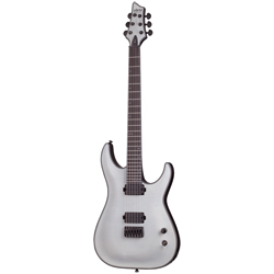 Schecter KM6 Keith Merrow Trans White Satin