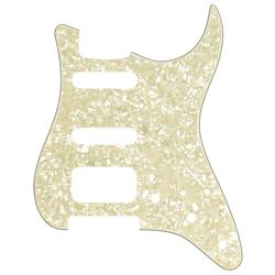 Fender Modern Style HSS Stratocaster Pickguard White Pearl