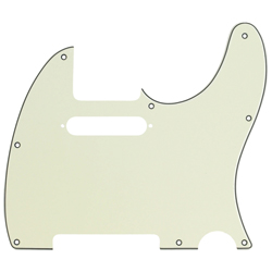 Fender Telecaster Pickguard 3-Ply Mint Green