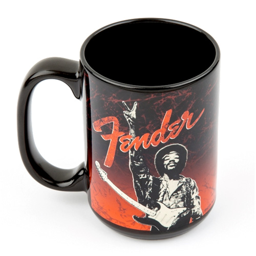 "Fender Jimi Hendrix ""Peace Sign"" Tasse"