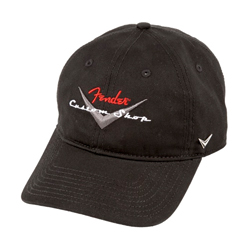 Fender Custom Shop Baseball Hat Black