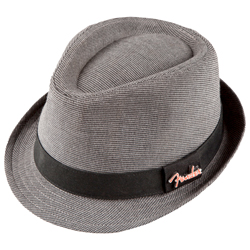 Fender Fedora Black/Gray Check with Pin S/M