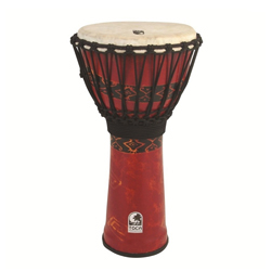 "Toca SFDJ-10F Djembe Freestyle Rope Tuned 10"" Fiesta Red"