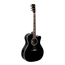 Sigma JRC-40E Westerngitarre Black