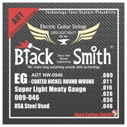 Black Smith ANW-0946 E-Gitarren Saiten beschichtet 9-46