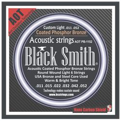 Black Smith APB-1152 Akustik Gitarren Saiten beschichtet 11-52