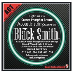 Black Smith APB-1253 Akustik Gitarren Saiten beschichtet 12-53