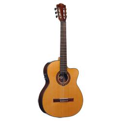 LAG Occitania 300 CE Konzertgitarre