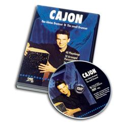 Schlagwerk Cajon - das kleine Schlagzeug DVD