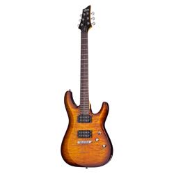 Schecter C-6 VS Plus E-Gitarre Vintage Sunburst