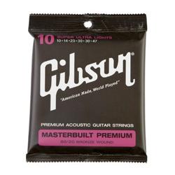 Gibson Masterbuilt Premium Akustik Gitarren Saiten 010-047