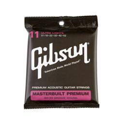 Gibson Masterbuilt Premium Akustik Gitarren Saiten 011-052