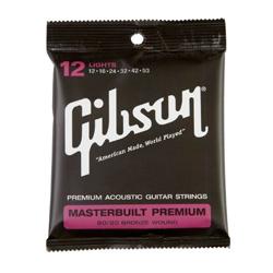 Gibson Masterbuilt Premium Akustik Gitarren Saiten 012-053