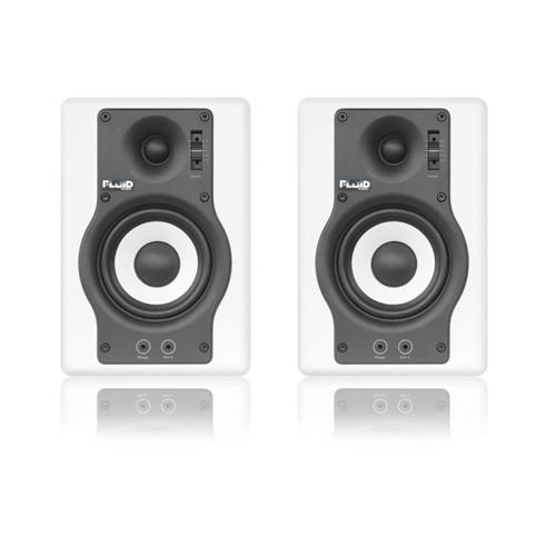 Fluid Audio F4W Studiomonitor Paar Weiß