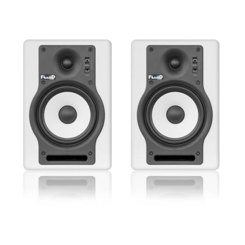 Fluid Audio F5W Studiomonitor Paar Weiß