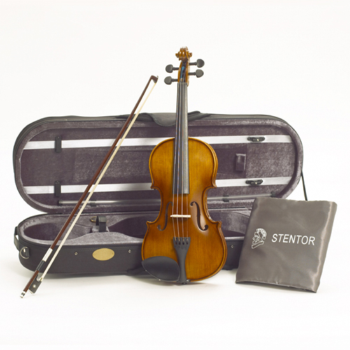 Stentor Violine 4/4 Graduate mit Bogen und Koffer