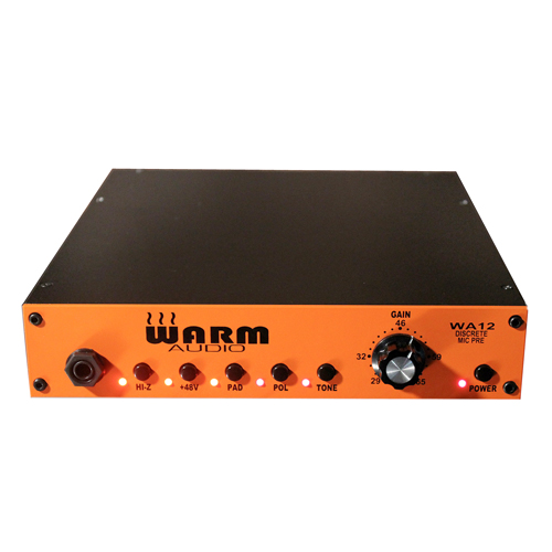 Warm Audio WA-12 Mikrofon- und Instrumentenvorverstärker