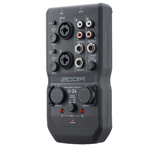 Zoom U-24 2in/4out Handy Audio Interface