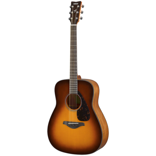 Yamaha FG800 BS Westerngitarre Brown Sunburst