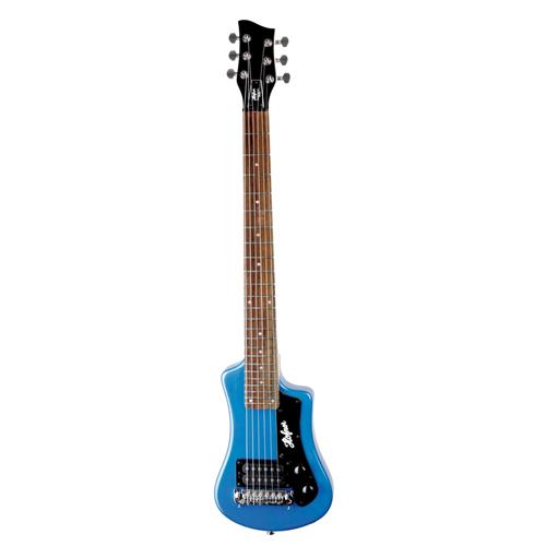 Höfner Shorty E-Gitarre Blau