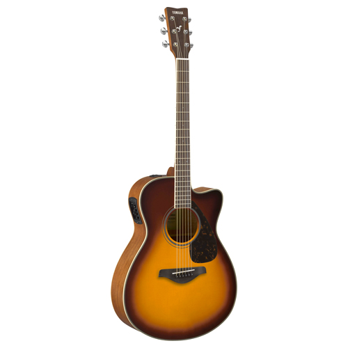 Yamaha FSX820C BS Westerngitarre Brown Sunburst