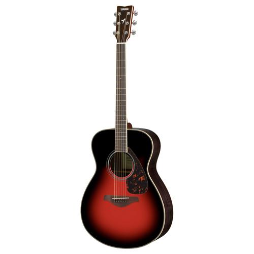 Yamaha FS830 DSR Westerngitarre Dusk Sun Red