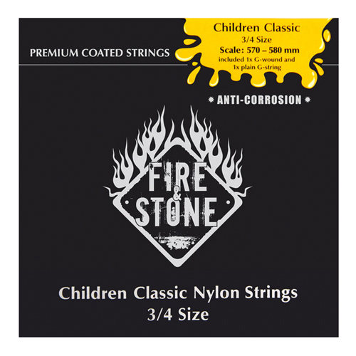 Fire&Stone 651820 Konzertgitarren Saiten 3/4