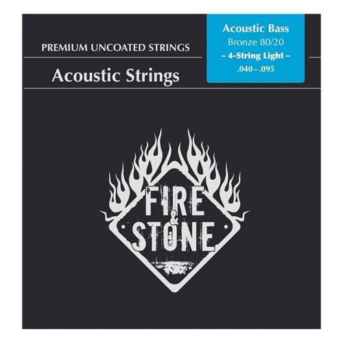 Fire&Stone Akustikbasssaiten .040-.095