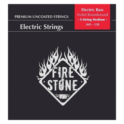 Fire&Stone E-Bass Saiten .045-.128