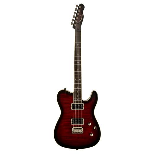 Fender Custom Telecaster FMT HH Black Cherry Burst