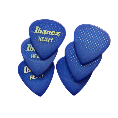 Ibanez Pick SET Rubber Grip heavy BPA16HR-BL