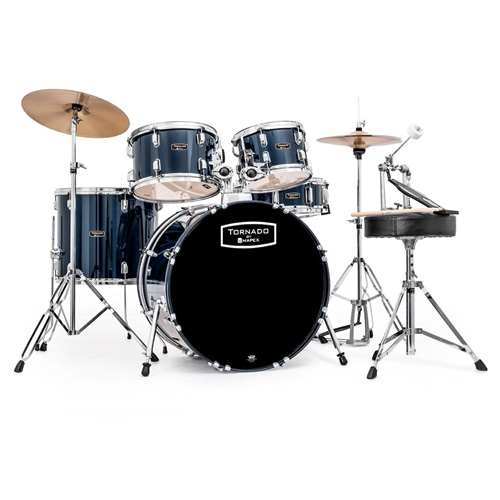 Mapex Tornado Standard Drum Set Black